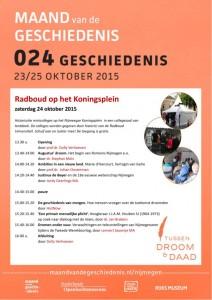 Programma Radboud op het Koningsplein
