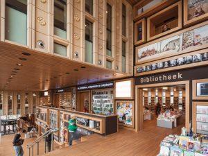 De bibliotheek in Rozet te Arnhem.