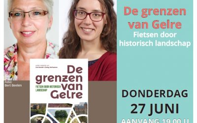Boekpresentatie 'De grenzen van Gelre' op 27 juni
